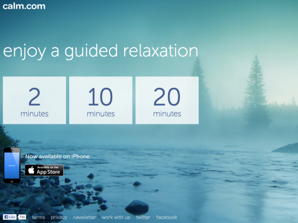 Calm.com Website